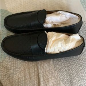 Brand New Men's MICROGUCCISSIMA LEATHER Loafers